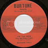 1312-A Nathan Hall I'M THE MAN (FOR THE DISCO LADY)